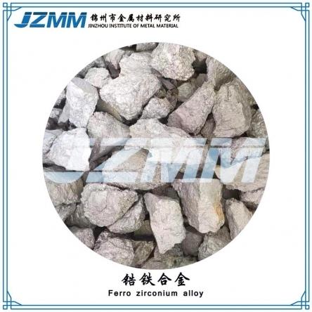 锆铁的生产方法